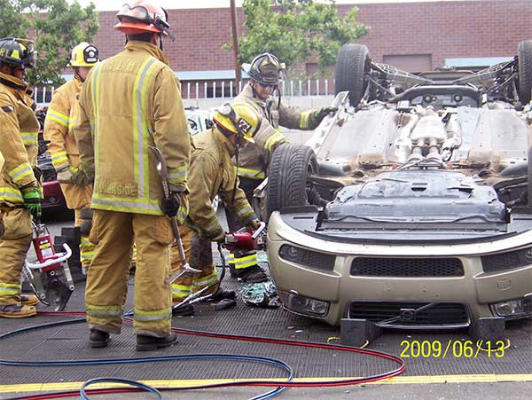 HOT extrication training